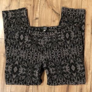 Mossimo patterned ankle pants